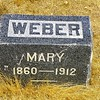 MARY WEBER  1860 - 1912