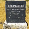 ELIZA WHITCOMB CAMP  JUNE 6, 1836 - FE. 4, 1912
