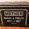 Sarah J. Phelps<br /> 1827-1907