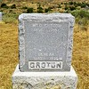 WM. D. GROTON  1854 - 1907<br /> BEULAH GROTON  1885 - 1890