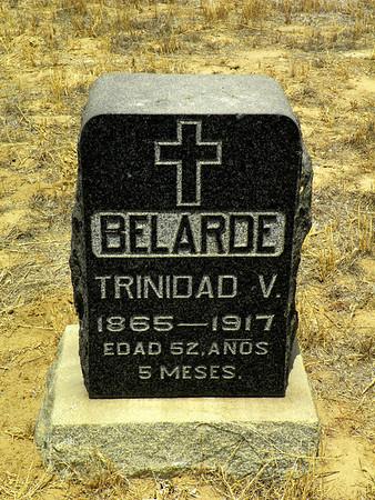 Trinidad Belarde - killed by a train