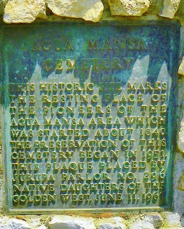 The plaque, color-adjusted for clarity.