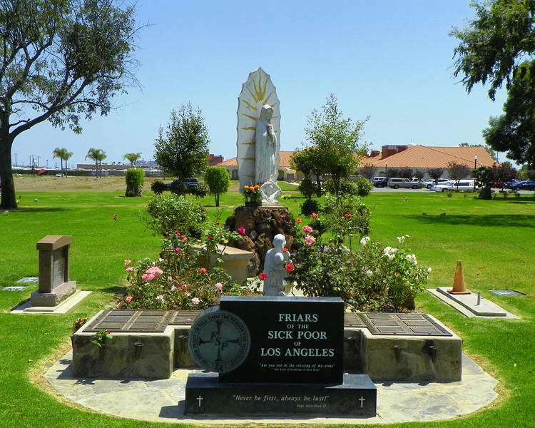 Garden of the Friars of the Sick Poor of L.A.