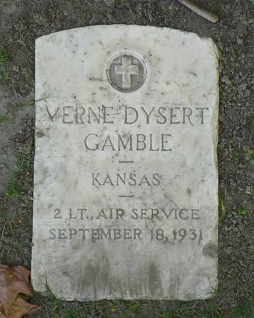 2nd Lt. Verne Dysert Gamble