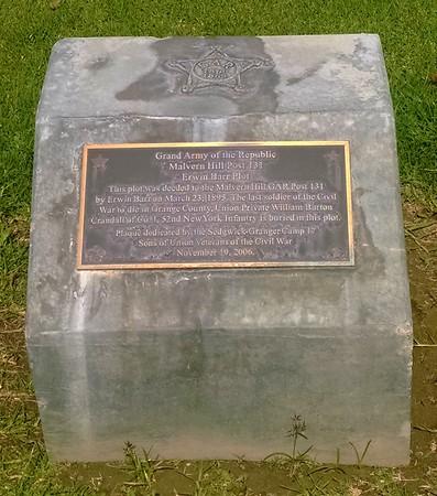 The William Crandall stone