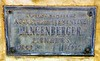 Augustus and Clementine Langenberger Memorial Plaque