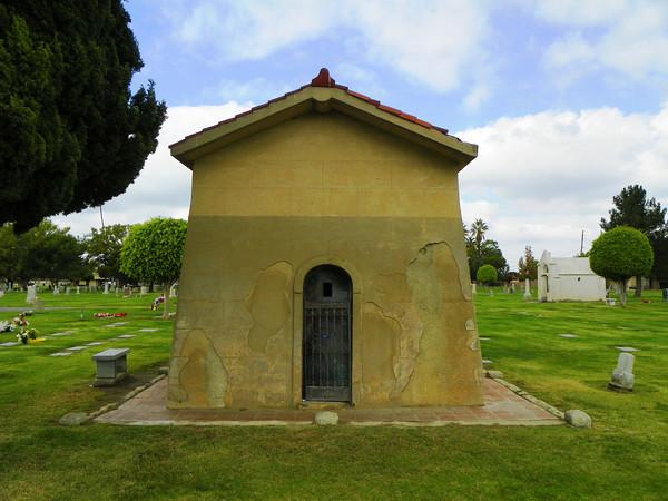 Langenberger Mausoleum rear view