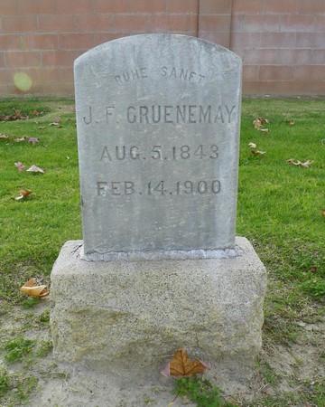 J. F. Gruenemay