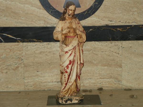 Langenberger statue of Jesus