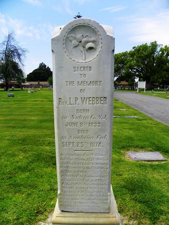 "Rev. Lemuel P. Webber, founder of Westminster, California in September, 1872 - <a href=""http://fpc-westminster.org/aboutus.html"">http://fpc-westminster.org/aboutus.html</a>"