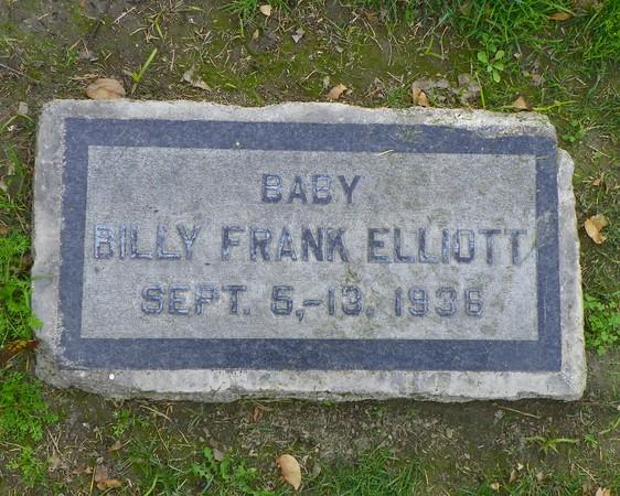 8-day-old Baby Billy Frank Elliott