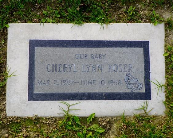 15-month-old Baby Cheryl Lynn Koser
