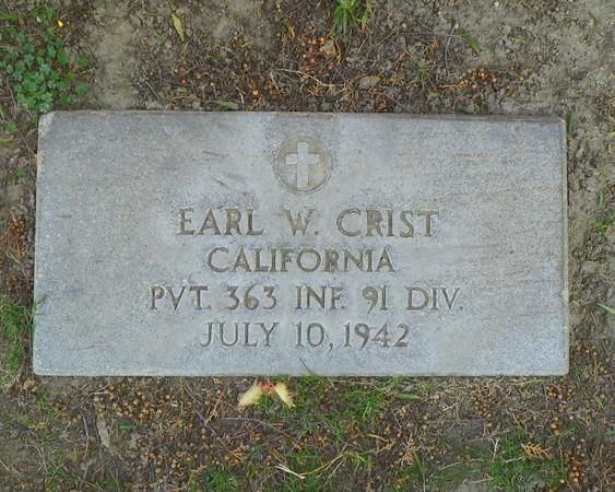 Private Earl W. Crist