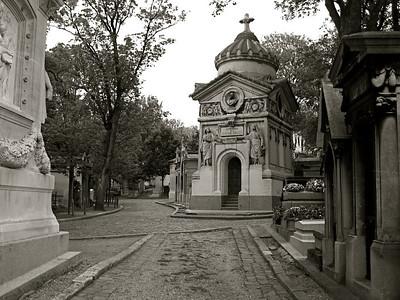 Mausoleum, Cimetière Père LaChaise, Paris