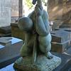 Grave of Spanish sculptor Baltasar Lobo.<br /> Montparnasse Cemetery, Paris.