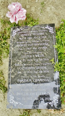 "This is a fascinating way for families with limited funds to be able to afford ground interment. Under this headstone, there are 6 interments of unrelated people. Their only connection is that they died, usually, within a few weeks of each other. The 6-deep grave is a total of 16-feet deep. A ""Community Plot""."