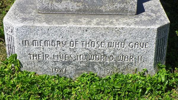 Initially a World War II Memorial