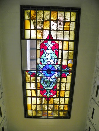 Maintaining the stained glass ceilings is a serious challenge