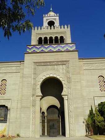 Flowers Mausoleum Entrance