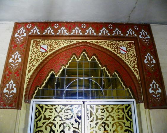 Angeles Mausoleum Entry