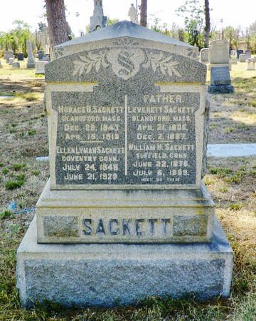 """Sackett Family - one again Allan has the fascinating story - <a href=""""http://allanellenberger.com/the-story-of-the-sacketts-of-hollywood/"""">http://allanellenberger.com/the-story-of-the-sacketts-of-hollywood/</a>"""