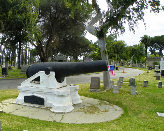 Cannon of the Stanton branch of the Grand Army of the Republic - a Civil War veteran association
