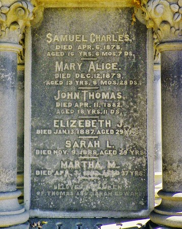 Thomas and Charles families