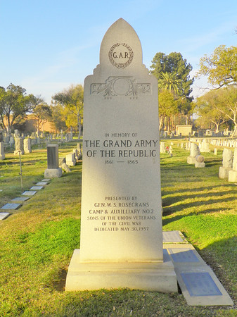 Grand Army of the Republic (G.A.R.) Memorial by the Sons of the Veterans of the Union Army