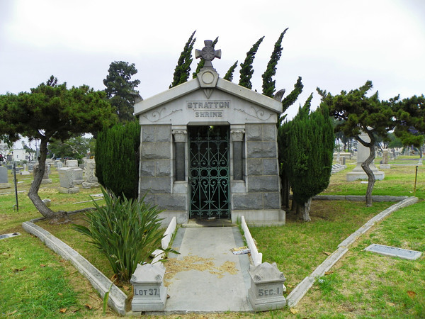 """Stratton Shrine"" Mausoleum"