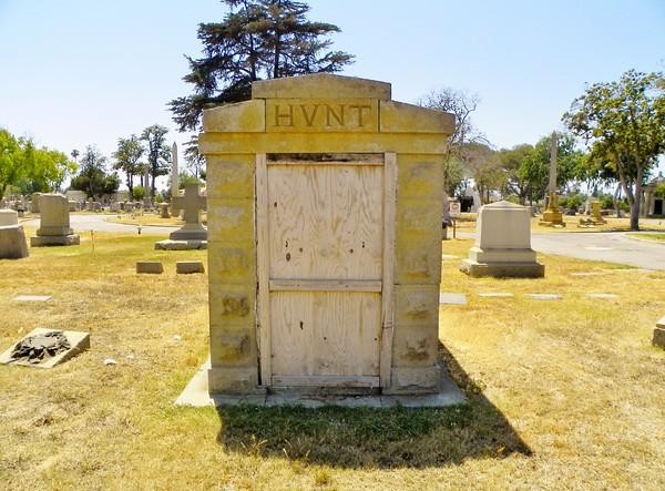 Hunt Family sarcophagus