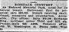 1911 Rosedale advertisement