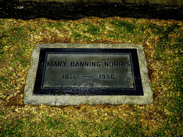 Mary Banning Norris, daughter of Mary Hollister Banning and granddaughter of Phineas & Mary Banning