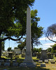 Glassell Family Obelisk - the founder of the City of Orange. Also, General Patton's Great-Uncle.
