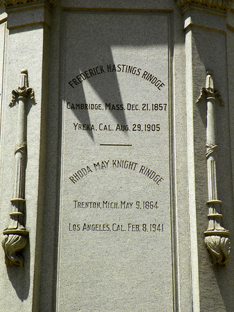 Frederick Hastings Rindge - you can still visit the Rindge home!