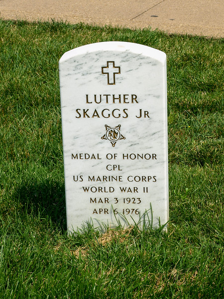 Corporal Luther Skaggs, Jr., US Marine Corps