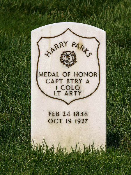 Captain Harry Jeremiah Parks, US Army