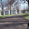 "I thought of this street as ""Mausoleum Row""--one huge structure after another, each more elaborate than the next.  It seems that ""keeping up with the Joneses"" is a valid concept for the afterlife as well as the here and now."
