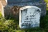 Black Hawk War Veteran Perry Clarno, Old Pioneer (Thorp) Cemetery, Green County, Wisconsin
