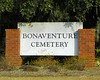Bonaventure Cemetery was developed on the historically-significant site of Bonaventure Plantation. The peaceful setting rests on a scenic bluff of the Wilmington River, east of Savannah. The site was purchased for a private cemetery in 1846 and became a public cemetery in 1907. Citizens and others can still purchase interment rights in Bonaventure. This charming site has been a world famous tourist destination for more than 150 years due to the old tree-lined roadways, the many notable persons interred, the unique cemetery sculpture and architecture, and the folklore associated with the site and the people.