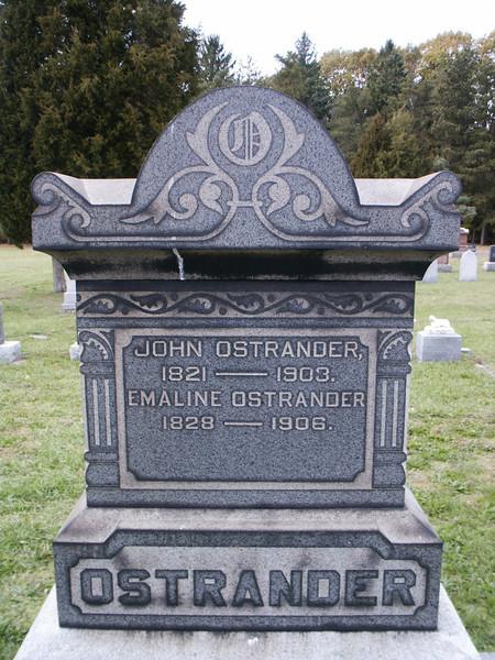 John and Emaline Ostrander