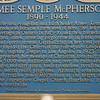 Aimee Semple McPherson (1890 - 1944)