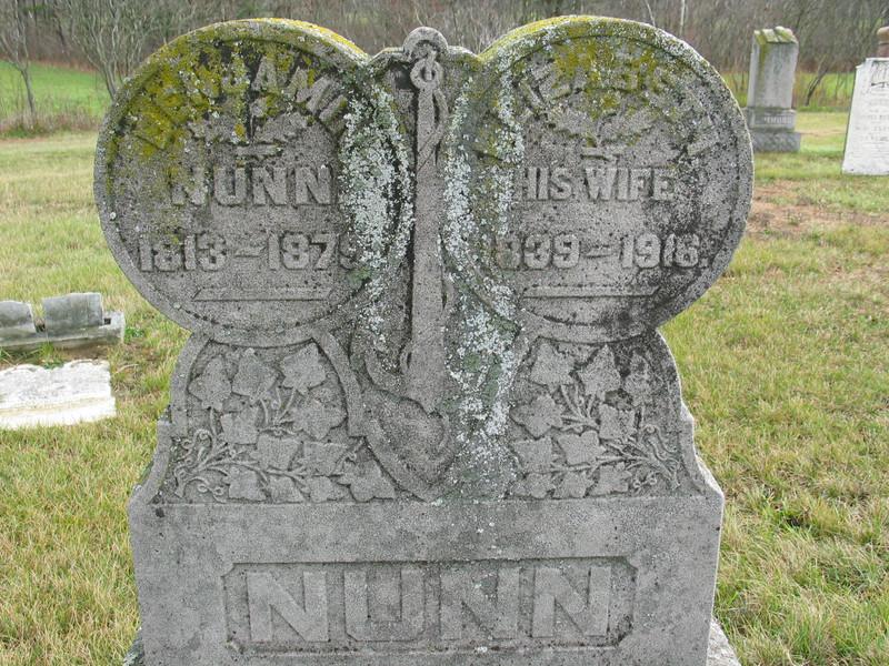 Benjamin and Elizabeth Nunn