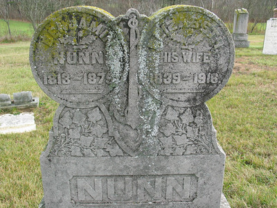 Benjamin and Elizabeth Nunn
