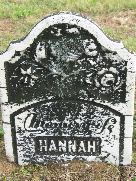 In memory of Hannah