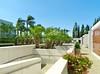 Private gardens.