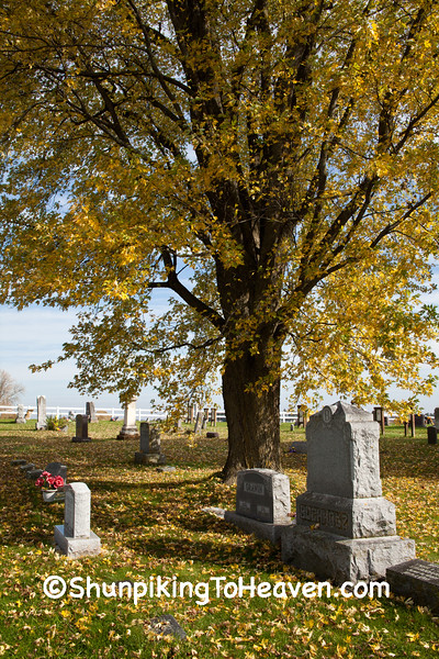 South Ridge Lutheran Cemetery, Monroe County, Wisconsin