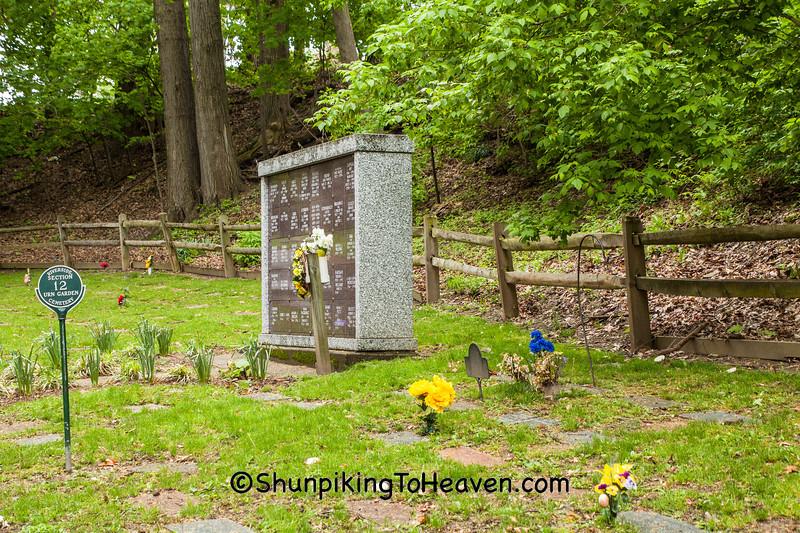 Urn Garden, Riverside Cemetery, Cleveland, Ohio