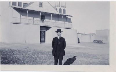 WPWingate St Augustine Church Isleta Pueblo Jan 18 1920