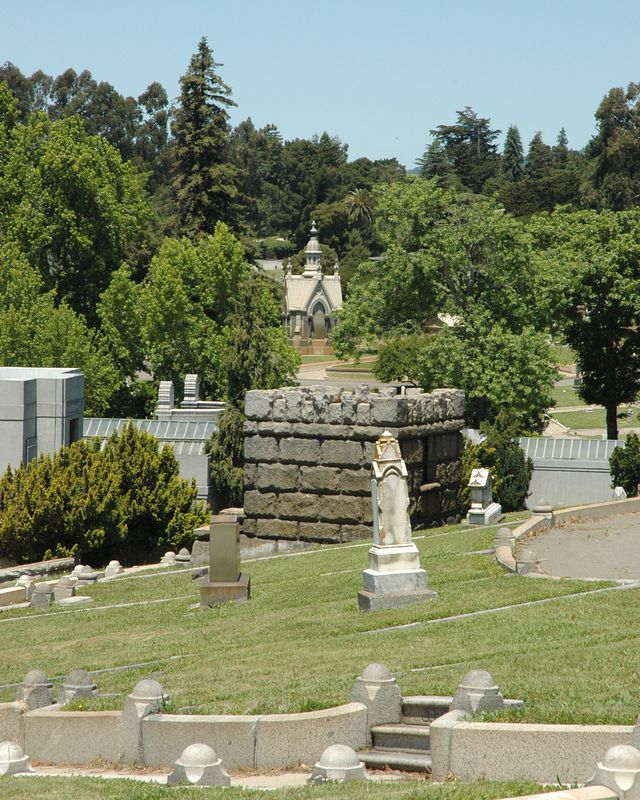 Large Crypt, Mountain View Cemetery, Oakland, CA