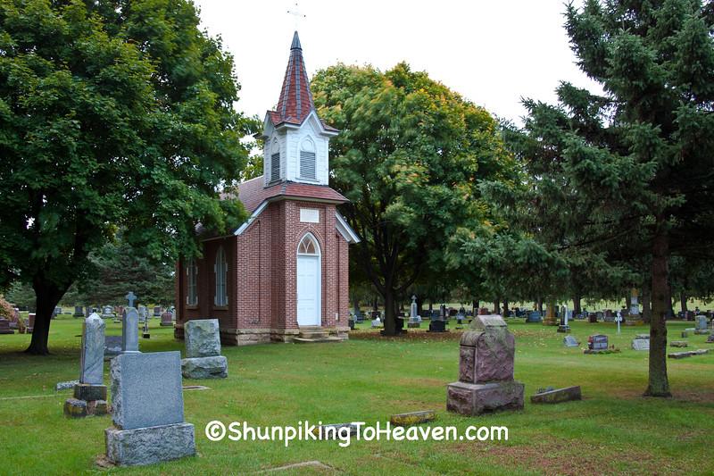 St. Aloysius Cemetery, Sauk City, Wisconsin